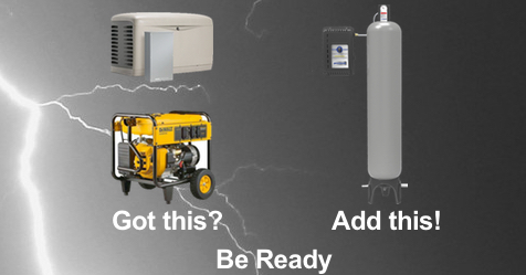 FACEBOOK Gen Plus Post - Have a Generator?  8 Reasons to Add Constant Water