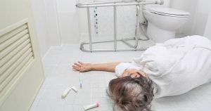 Elderly Fall in Bathroom 300x158 - Preventing Elderly Falls –  5 Tips for Emergency Water Preparation