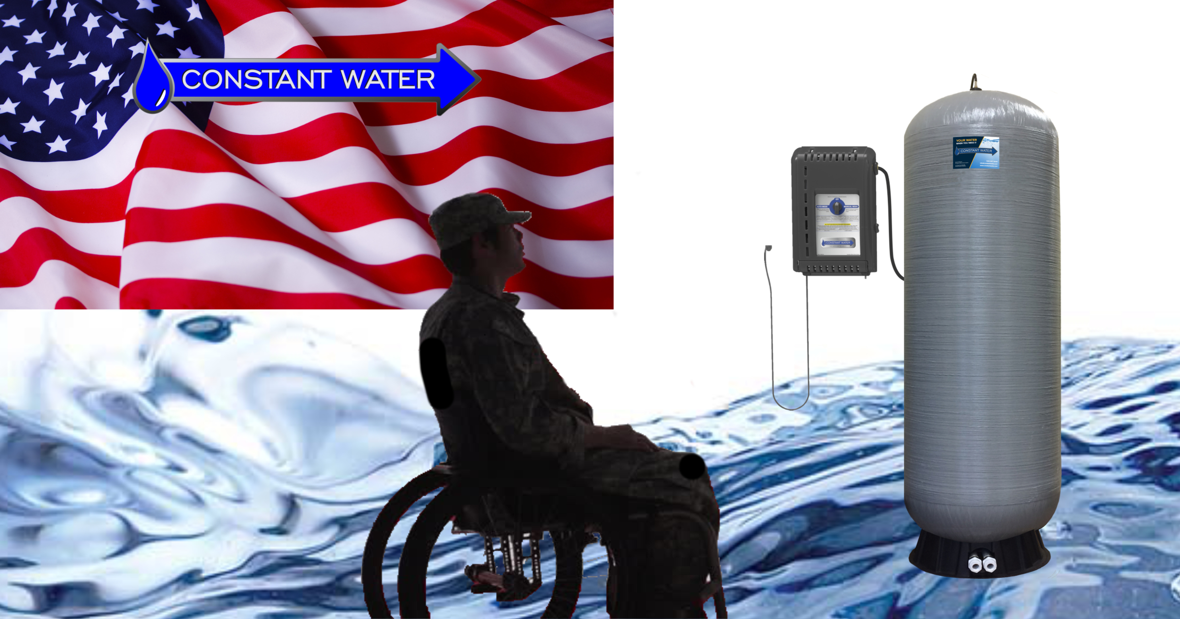 Backup Water Disabled Veteran