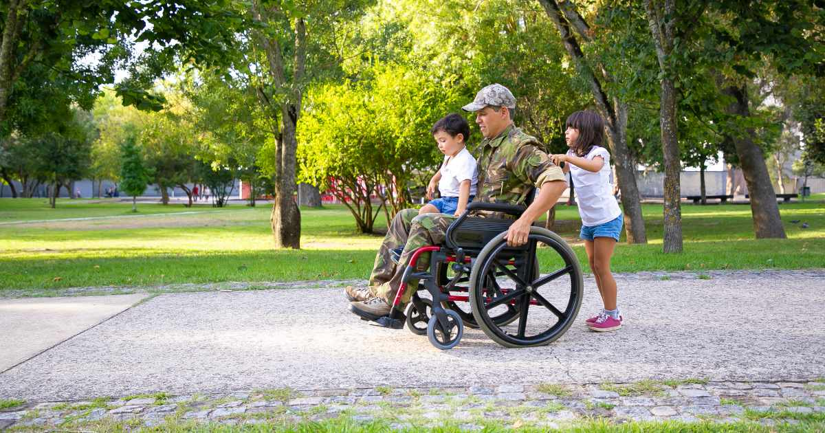 Disabled veterans have benefits available