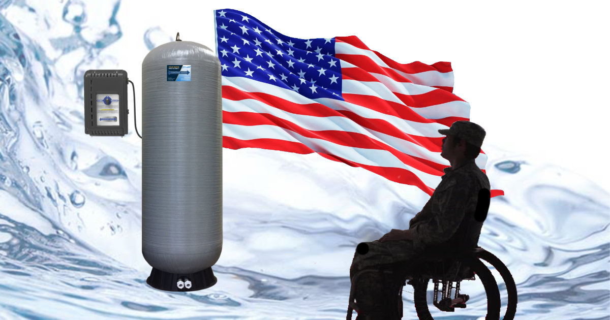 Disabled veterans grants available for water security systems